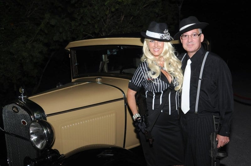 Thank you to Bruce and Luann Sickle for creating the Prohibition atmosphere with their 1931 Model A Deluxe Sedan