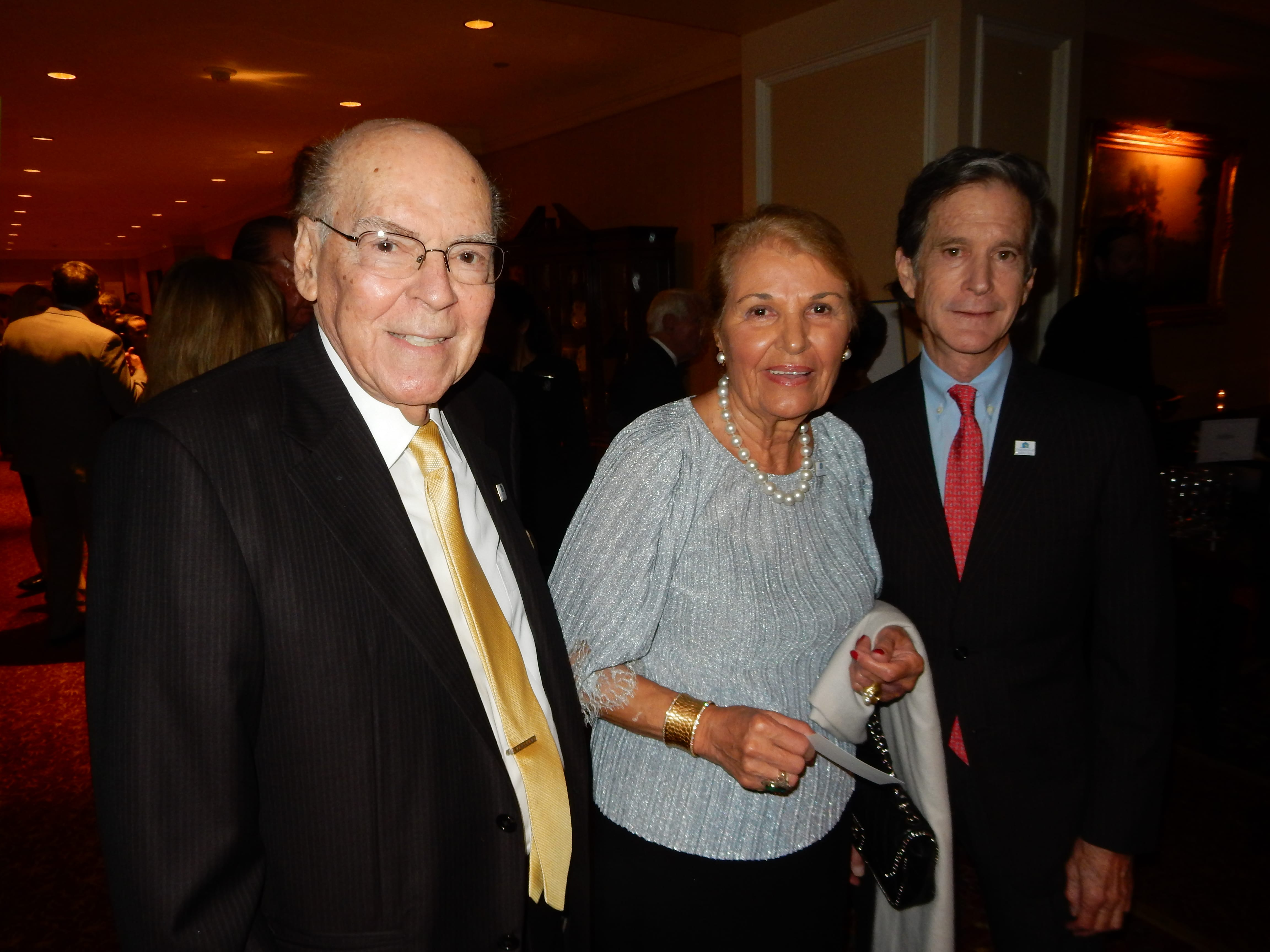 Dr Chris Papadopolous and Mary Bongiovanns and Dr. Robert Tober