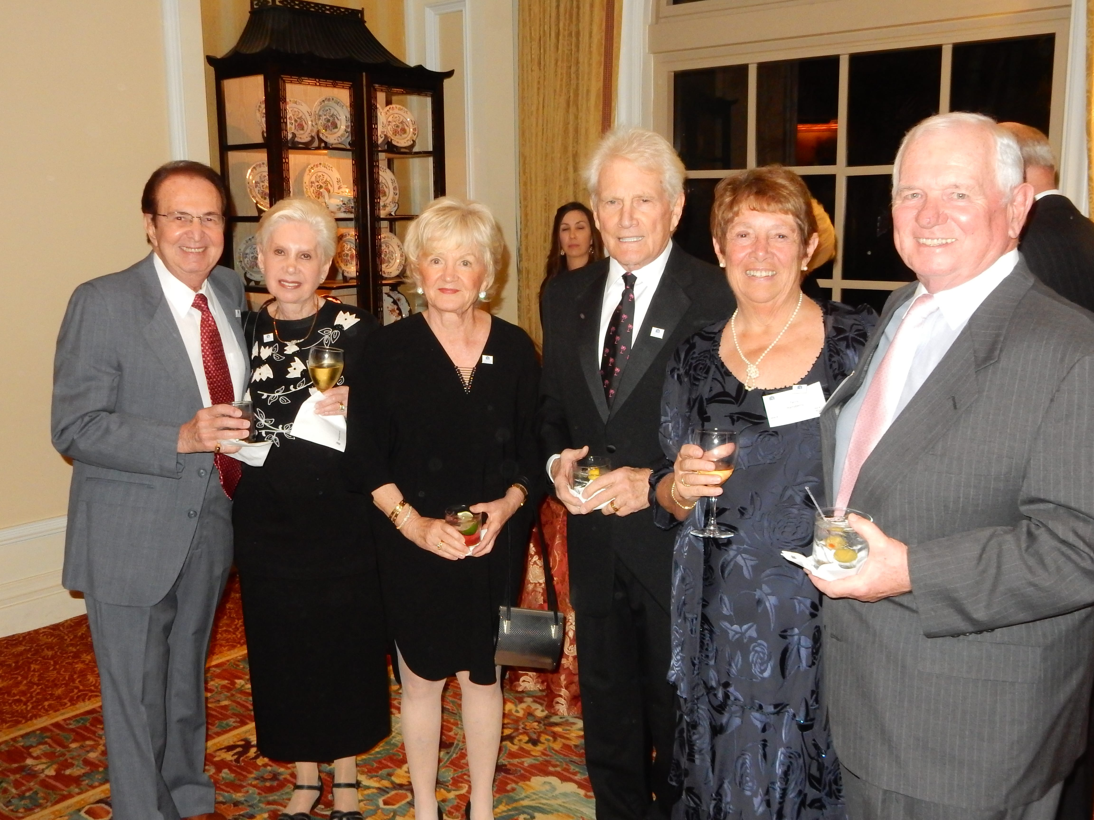 Samuel and Judith Freedland, Bob and Alice Naegele, Ted and Terry Hansberry (2)