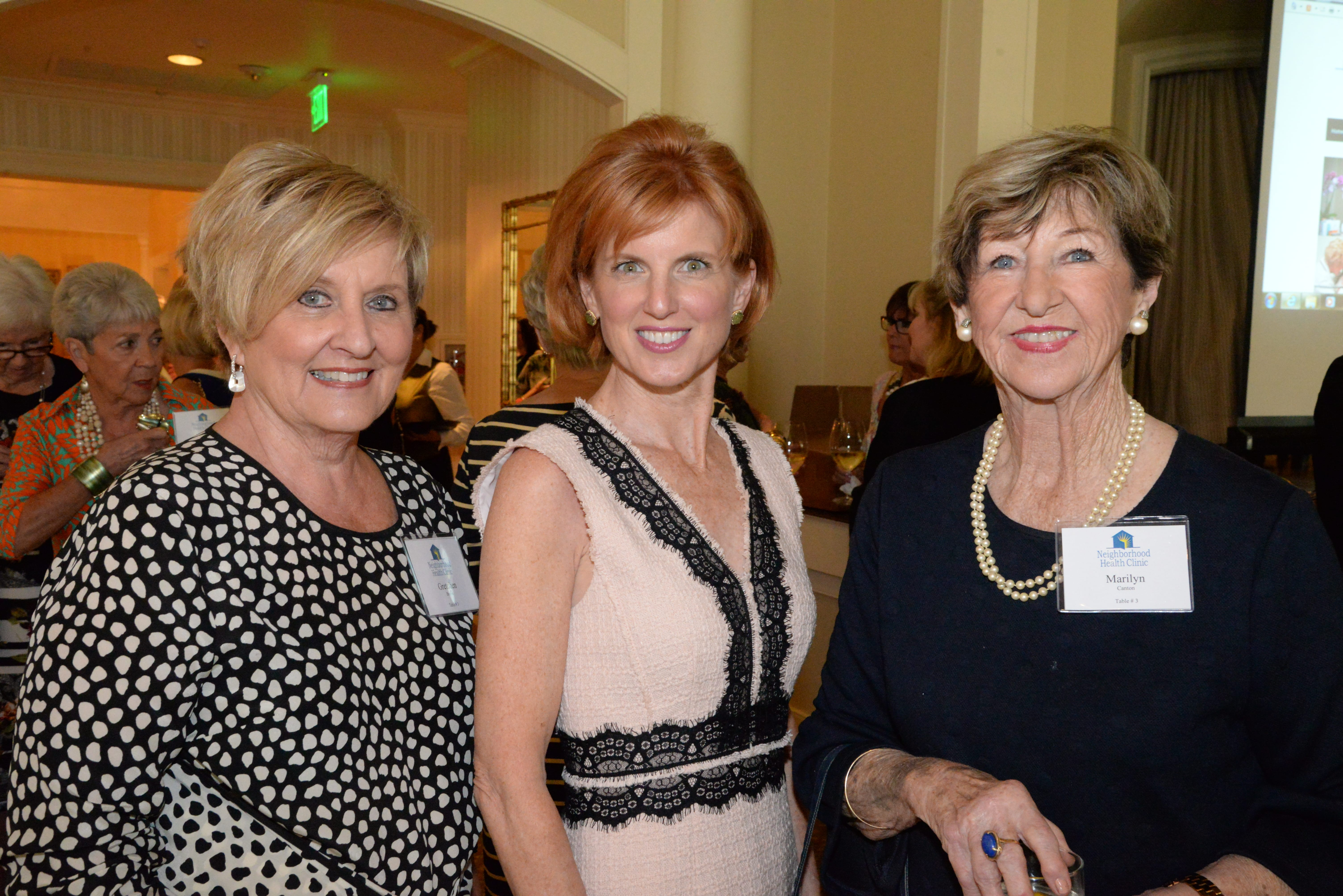 Gretchen Brown, Tracy Nolan, Marilyn Canton