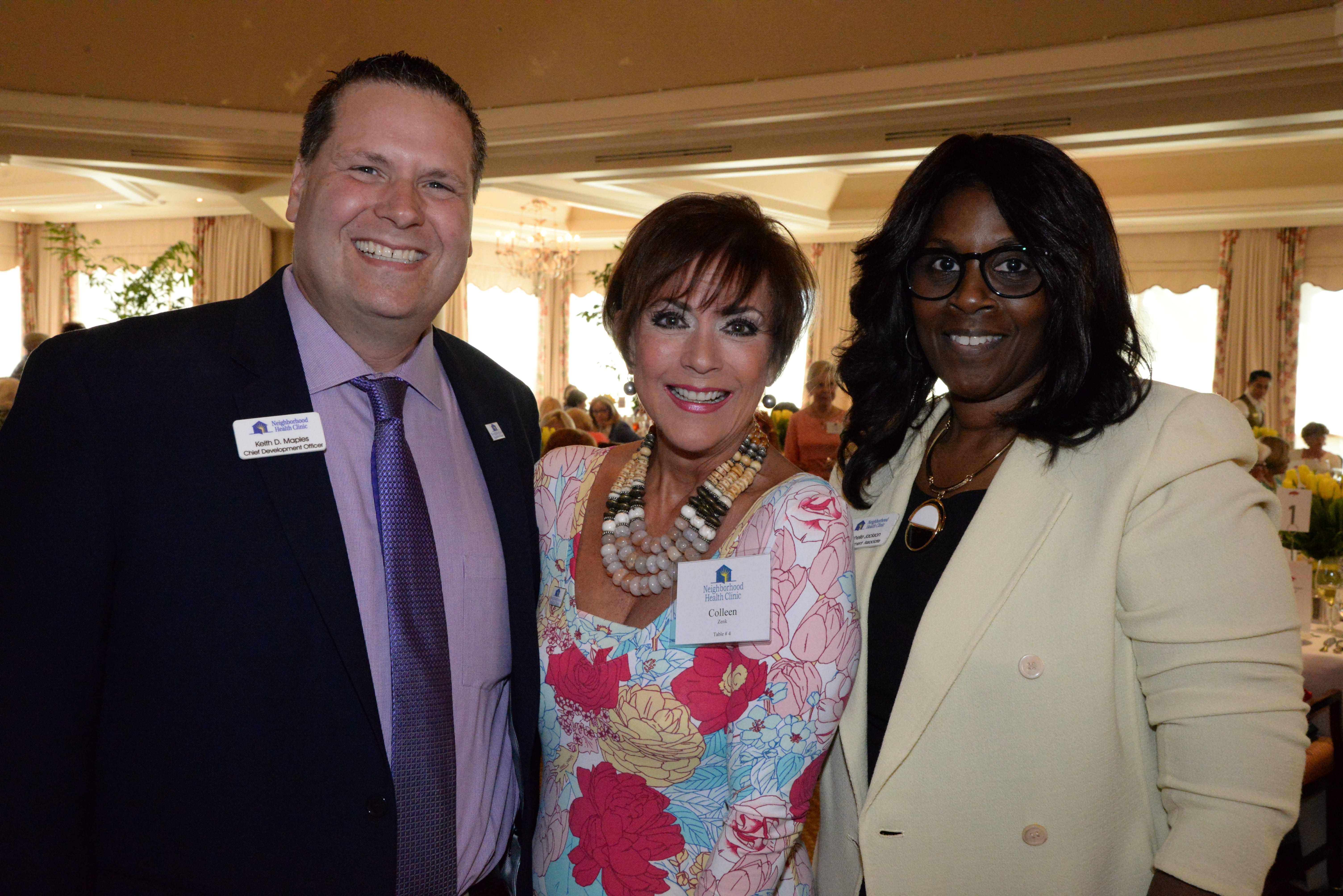 Keith Maples, Actress Colleen Zenk, Rochelle Jackson