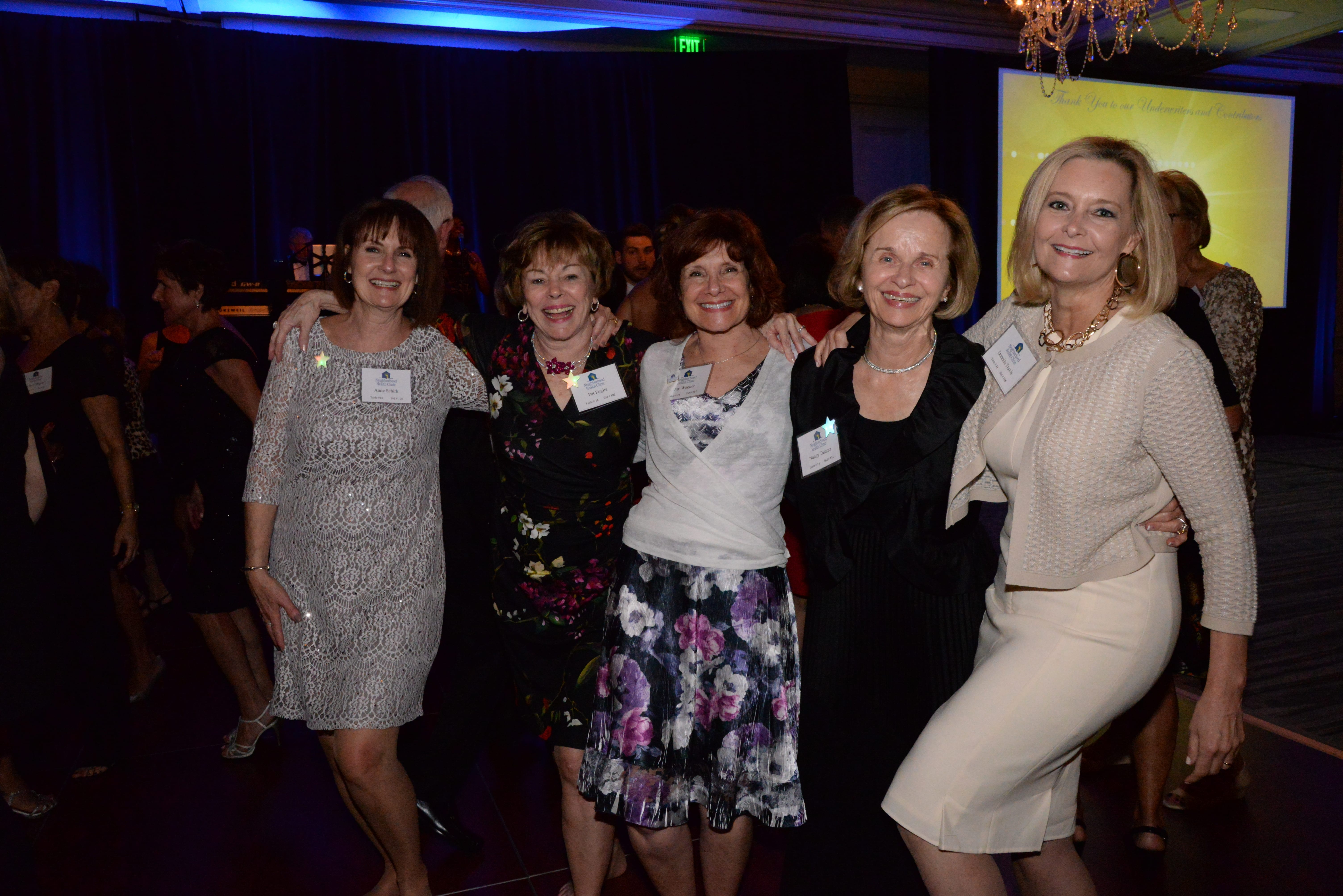 Anne Schirk, Pat Foglia, Joy Wagner, Nancy Tamraz, Donnita Travis