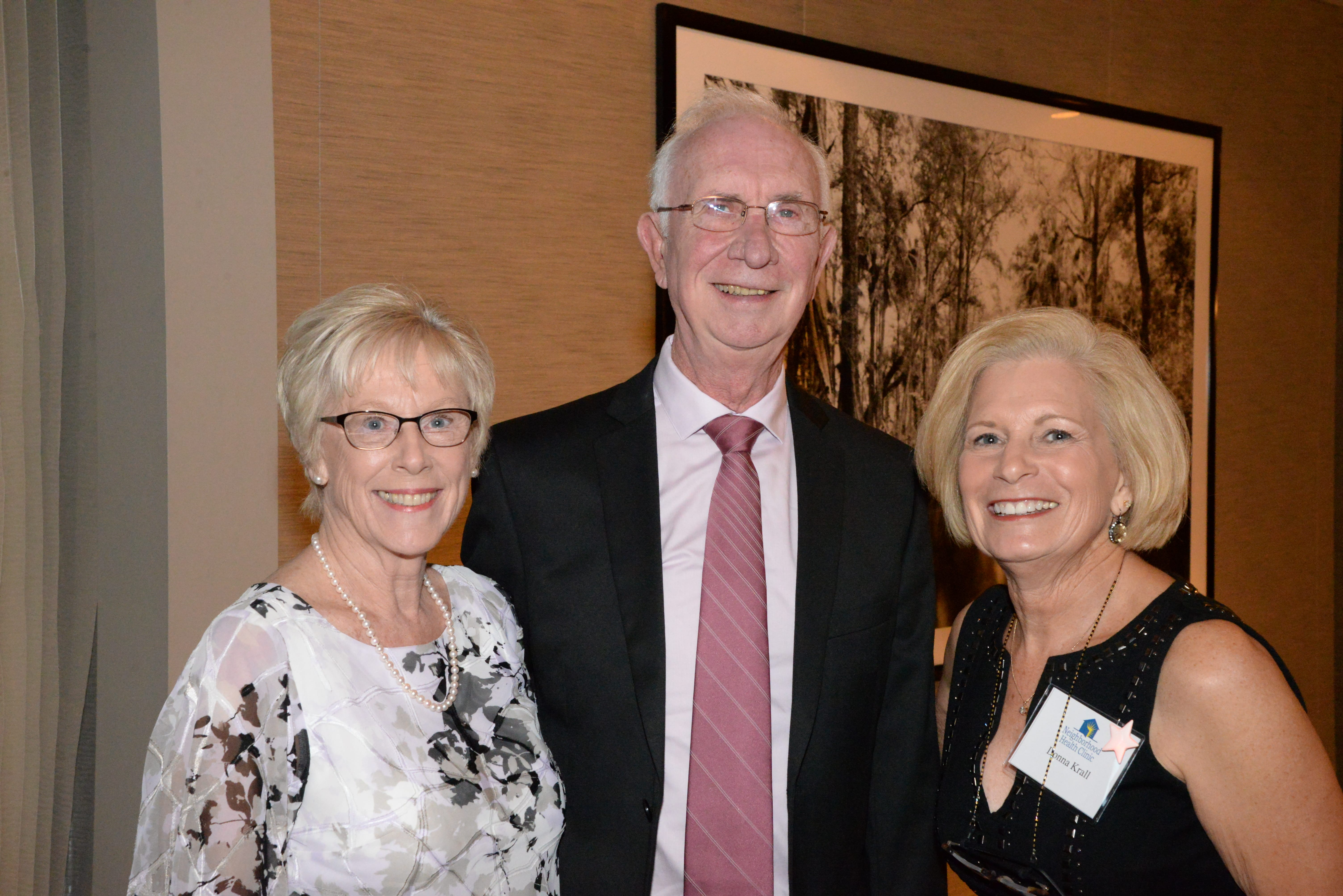 Gail Bradley, Robert Bradley and Donna Krall