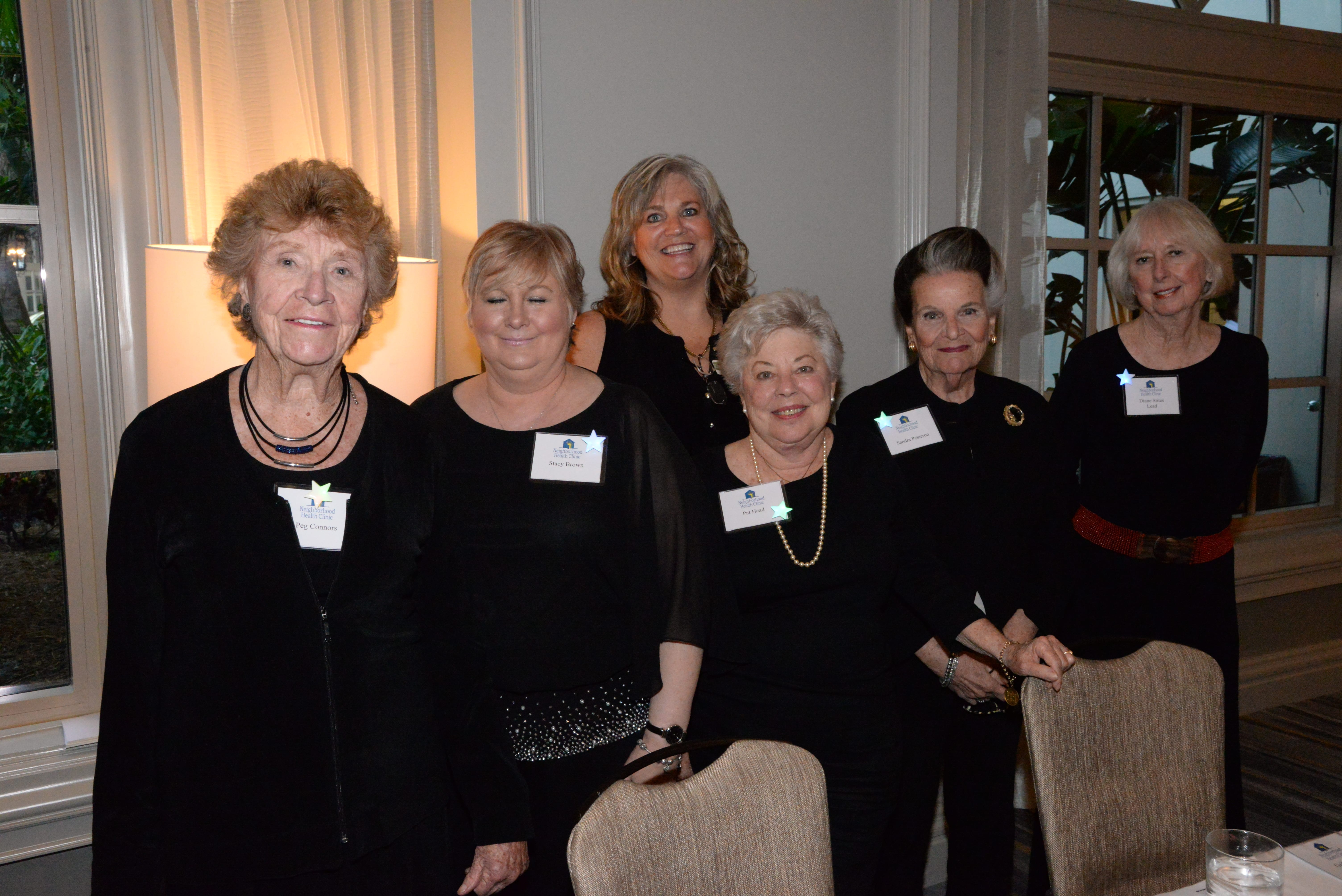 Peg Connors, Stacy Brown, Ann Crews, Pat Head, Sandra Peterson, Diane Stites